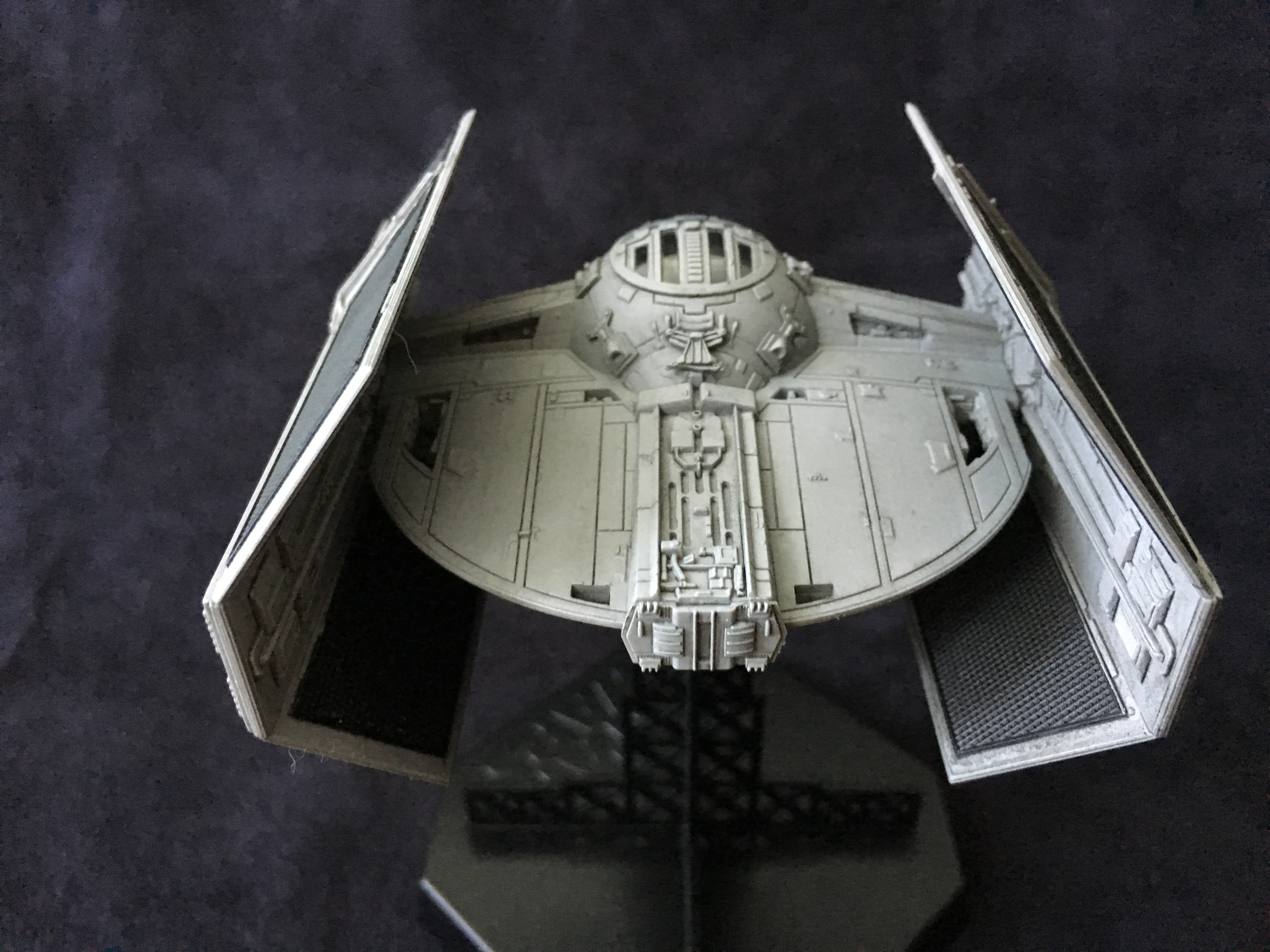 Star Wars Tie Advanced 1 72 By Finemolds Completed Build